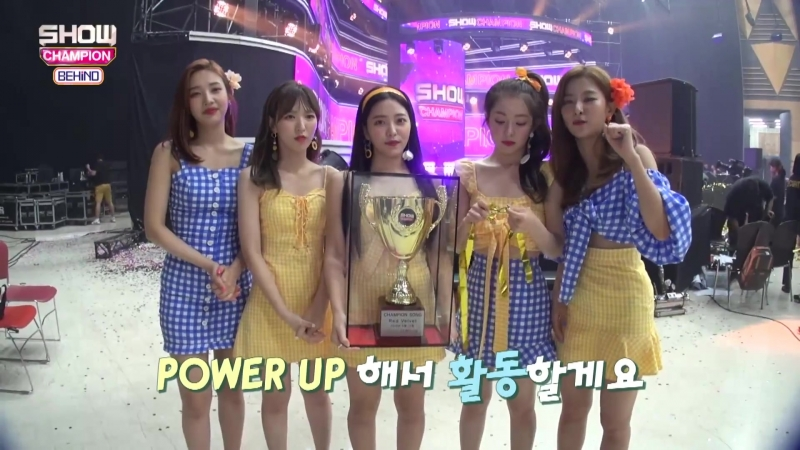 180821 Red Velvet @ Show Champion Backstage