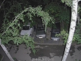 Злодей вскрывает машину 28.08.2018 03:15:38-03:24:05