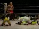 Dynamite Kansai, Toshiyo Yamada vs. Chigusa Nagayo, KAORU 9.30.2001