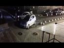 В Кудрово на Европейском 21 3 девушка подбила 3 автомобиля