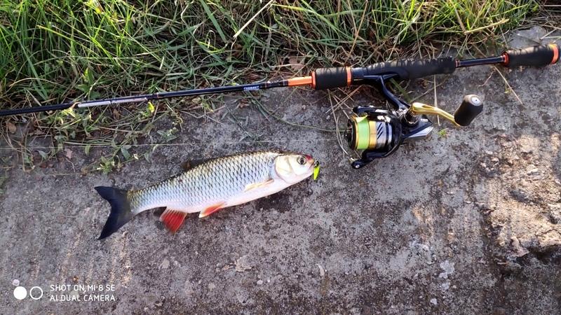 Эта колебалка спасла мою рыбалку! Голавль и окунь дурели от блесны