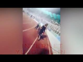 Севинч Муминова Сахнани титратган Ракси 2018