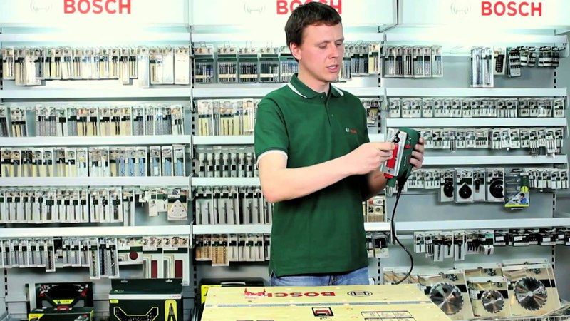 Все о лобзике PST 800 PEL от Bosch