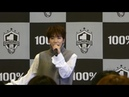 [FANCAM] 181120 백퍼센트(100%) - How To Cry (Rockhyun Focus) @ Kanagawa - Queen's Square Yokohama