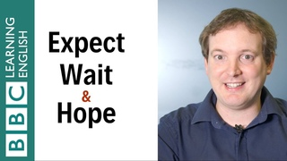 Hope vs expect vs wait: What's the difference? - English In A Minute