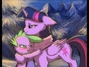 MLP: Twilight Sparkle and Spike (Owl City - Gold)