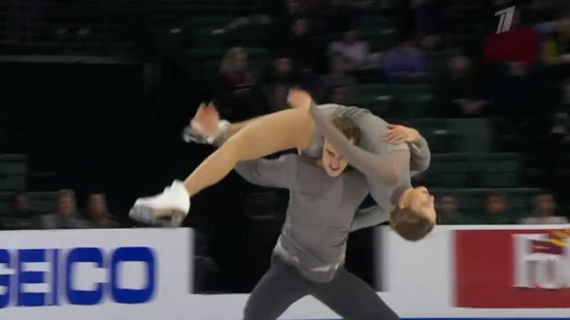 Skate America 2018. Ice Dance - FD. Katharina MÜLLER Tim DIECK