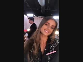 Личный архив ›› Бэкстейдж показа «Victoria's Secret Fashion Show», Нью-Йорк (8 ноября 2018)