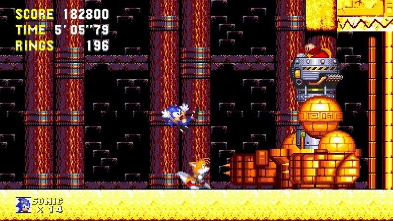 Sonic 3 Knuckles HD ✪ Sonic Fan Games | Walkthrough