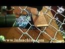 Chain link fence machine for sale Galvanized Diamond Woven Wire Mesh machine