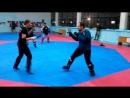 Стальной кулак S.P.A.S. - комплексная самозащита нож/удары ногами