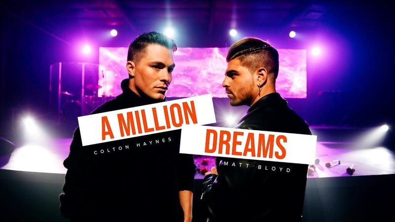 Matt Bloyd and Colton Haynes - A Million Dreams