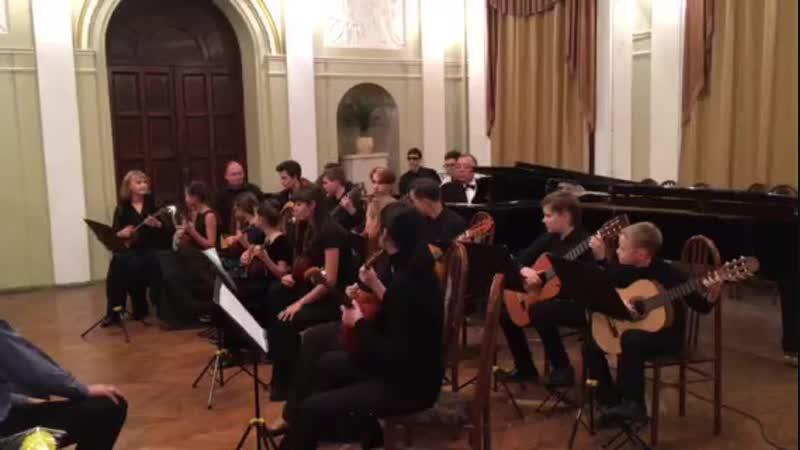 Школьный концерт с Шевердиным В.В. 12.11.2018