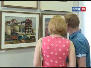 В художественном отделе открылась юбилейная персональная выставка Анатолия Климова