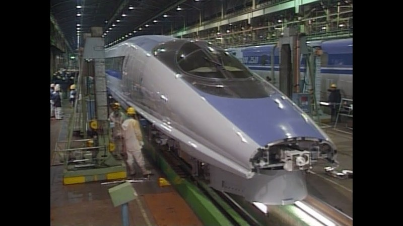 Development of The 500 Series Shinkansen