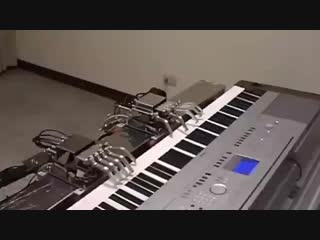 PIANIST ROBOTIC HANDS