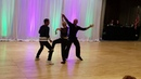 Tandem West Coast Swing Show Floridadancemagic Dez Lanie and Jesse