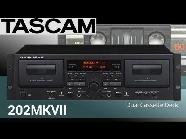 New 2018 cassette deck TASCAM 202ᴍᴋVII review