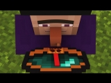 [Alien Being] Villager & Witch Life 2 - Alien Being Minecraft Animation