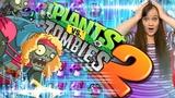 Растения против Зомби 2 Бесконечное выживание в НЕОНОВОМ мире Plants Vs Zombies