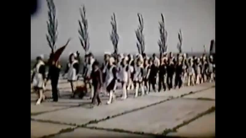 Посвящение в пионеры на Саур-Могиле
