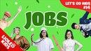 Tiếng Anh cho bé qua Sách Let's go 14 : Bé học tiếng Anh về nghề nghiệp - Jobs  Lioleo Kids 