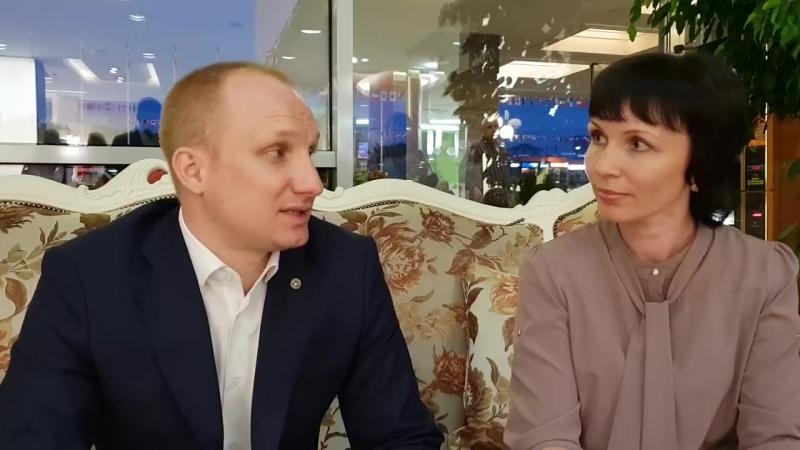 В чем секрет большого бизнеса Интервью берет Надежда Дручинина у президента Академии Успех Вместе! (1)
