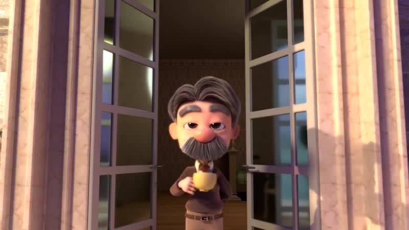 CGI Animated Short Film Love On The Balcony by Kun Yu Ng.and Joshua Hyunwoo Jun