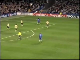 Chelsea 1-0 Juventus Drogba Goal