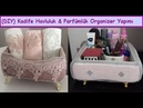 Organizer diy | Kadife Kutu Kaplama ParfümlüHavluluk Yapımı,Süsleme,Nasıl Yapılır| How To Decor Box