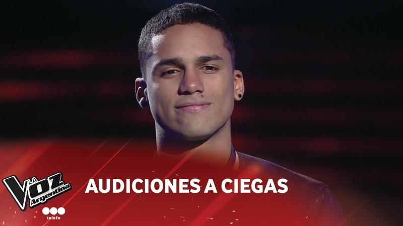 Irvin Díaz - When I was your man - Bruno Mars - Audiciones a ciegas - La Voz Argentina 2018