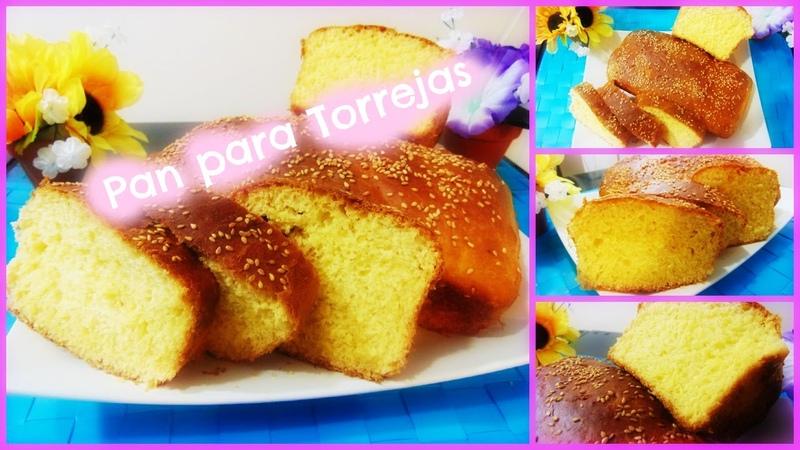 Torta de Yema/Bread for Torrejas