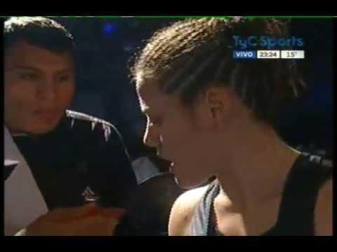 Daniela BERMUDEZ vs Neisi TORRES - WBO - Full Fight - Pelea Completa