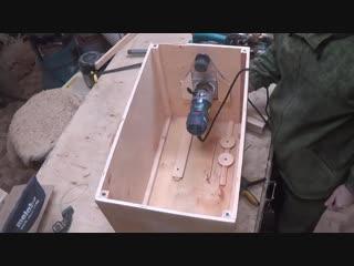 Ящик для инструмента с пилой. Классная самоделка