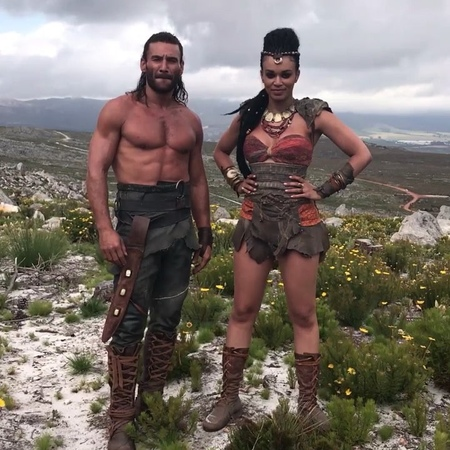 "Peter on Instagram: ""Looking forward to joining these two @mcgowanzach and @pearlthusi and the rest of the creatives in @ScorpionKingMovie. Check i..."