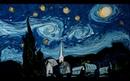 Van Gogh on Dark Water