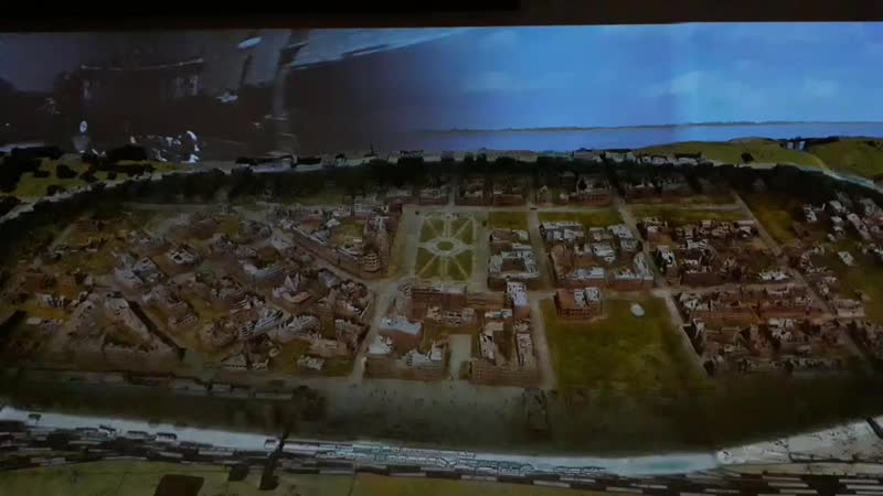 Интерактивная экспозиция в Панарамном музее г.Волгоград