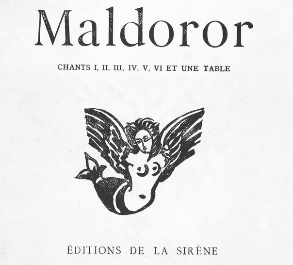 Песни Мальдорора / Les Chants de Maldoror год: 1869 Автор: Лотреамон Жанр: Стихотворный недайбог Лотреамон