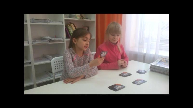 Космический батл в школе IQ 007 Марина и Настя