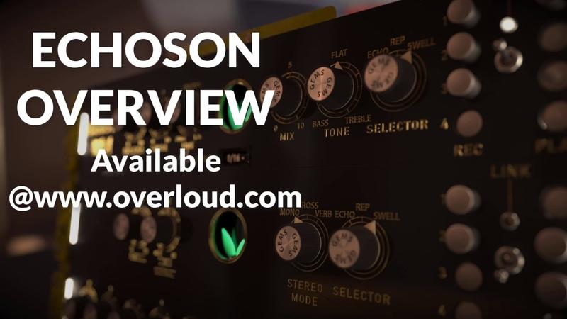 Overloud ECHOSON - Pink Floyd Echorec drum delay
