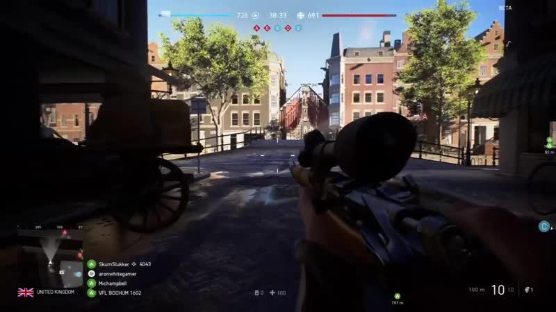 Battlefield V Gameplay . ОБЗОР. ГЕЙМПЛЕЙ