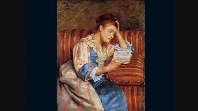 Mary Cassat (1844-1926) Дамы