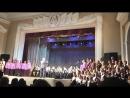 Отчётный концерт 2018 - Оркестр тембровых гармоник и сводный хор. Дж. Верди Хор из оперы Набукко