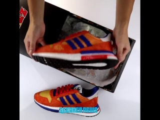 Анбоксинг adidas ZX500RM x Dragon Ball Z SNEAKERGEEK