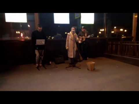 Москва, вечер, улица, приятная музыка