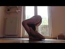 Ashtanga Yoga - firefly pose (deep front curl, open hips, front bending)