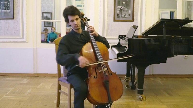 И.С. Бах – Прелюдия и Фуга из сюиты №5 до-минор для виолончели соло, BWV 1011 Исп.: Ярослав Чистов