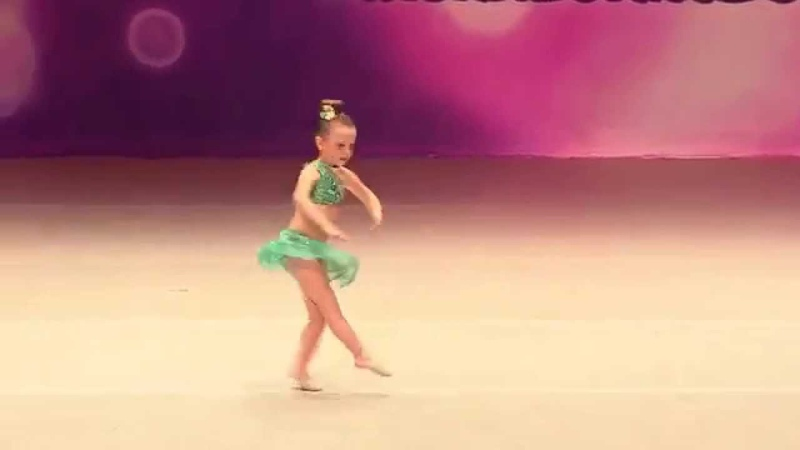 Paisley's Solo A Whole New World-Rainbow Dance Competition 2015