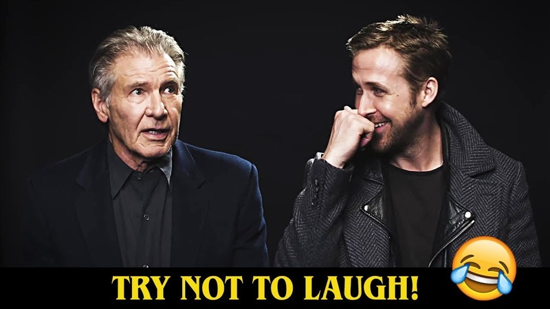 Ryan Gosling Harrison Ford Being Assholes To Each Other 😂😂