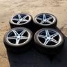 Диски AMG style - Mercedes R18. Разноширокие. 8/9j 32/35et 5x112 Шины: 245/40/R18 , 265/35/R18 Год шин: 2014 Стоимость комплекта